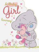 Extra Large Tiny Tatty Teddy It's Girl Card